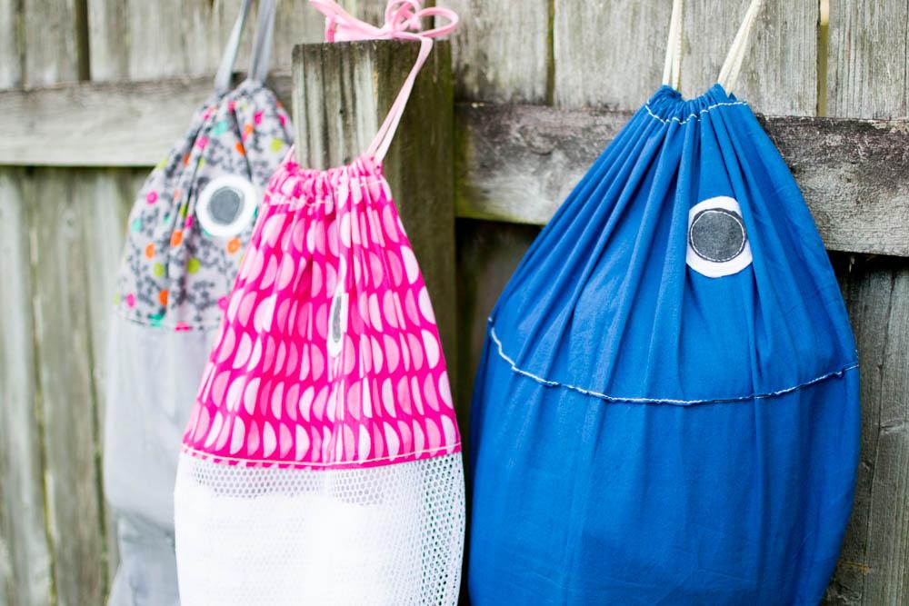 Fish Laundry Bags Free Sewing Pattern Sewcanshe Free