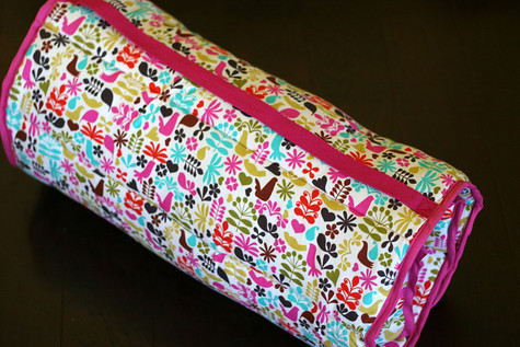 DIY Nap Mat/Bed Roll from Pretty Prudent
