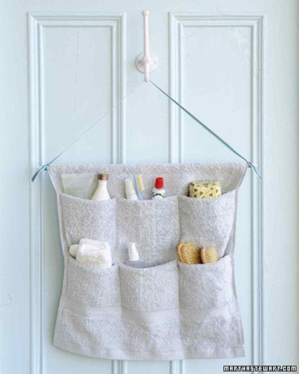 Terry Cloth Caddy from Martha Stewart