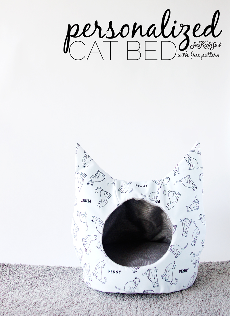 Cat Bed from See Kate Sew