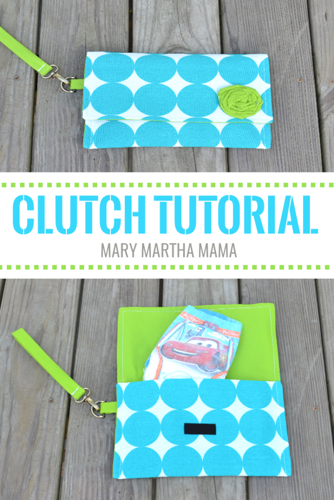 Mini Diaper Bag Clutch from Mary Martha Mama