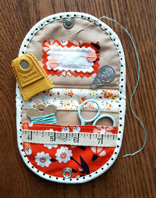 Simply Strippy Sewing Kit from The Fabric Mutt