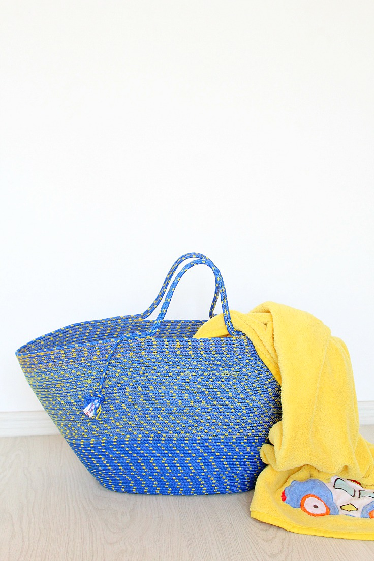 ROPE BAG SEWING TUTORIAL from Creative Homemaking