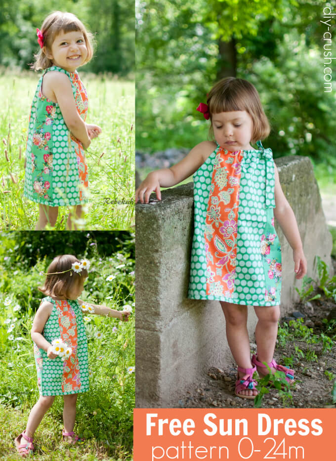 Free Sun Dress Pattern from DIY Crush