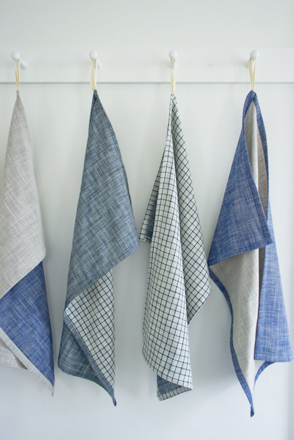 Super Simple Dishtowels fro Purl Soho