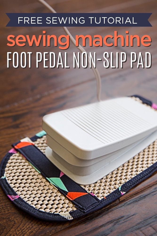 Sewing Machine Foot Pedal Non-Slip Pad from CG Creates