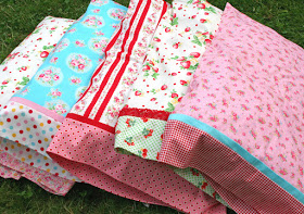 pillowcase tutorial from Lovely Little Handmades