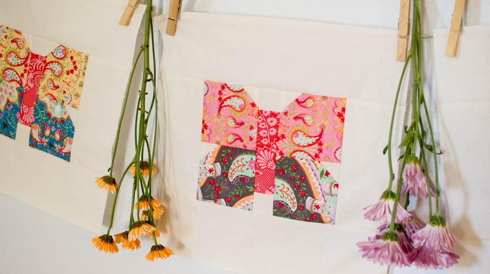 Classic Blocks: Fresh Fabric... a Butterfly Quilt Block Tutorial ... : butterfly quilt block pattern - Adamdwight.com