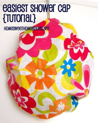 Easiest Shower Cap from Home Sweet Home Bodies