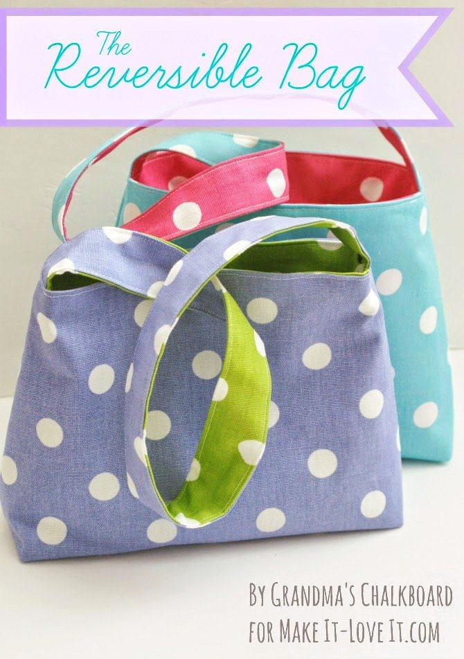 Reversible Bag for Kids