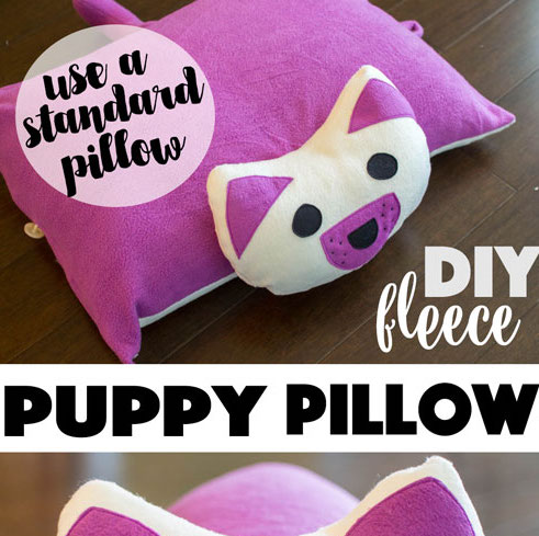 DIY Puppy Pillow. & crafty little things to sew \u2014 SewCanShe | Free Sewing Patterns for ... pillowsntoast.com