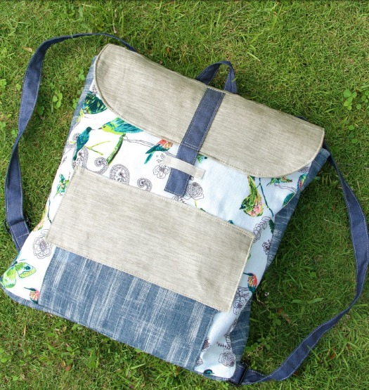 Tote & Back Pack Combo from Art Gallery Fabrics