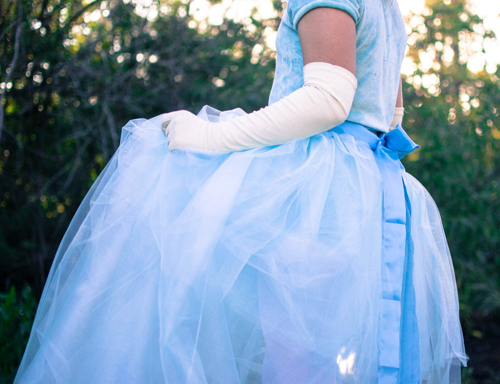 DIY Tulle and Ribbon Wrap-Around Skirt u2014 SewCanShe | Free Sewing Patterns for Beginners & DIY Tulle and Ribbon Wrap-Around Skirt u2014 SewCanShe | Free Sewing ...