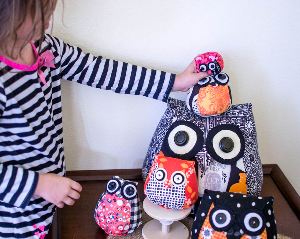 Adorable Owls - Free Sewing Pattern & Tutorial — SewCanShe | Free ...