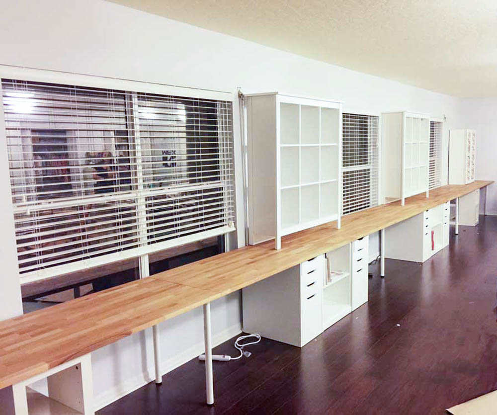 My Home Office To Sewing Studio Remodel Is Finished! U2014 SewCanShe | Free  Sewing Patterns For Beginners