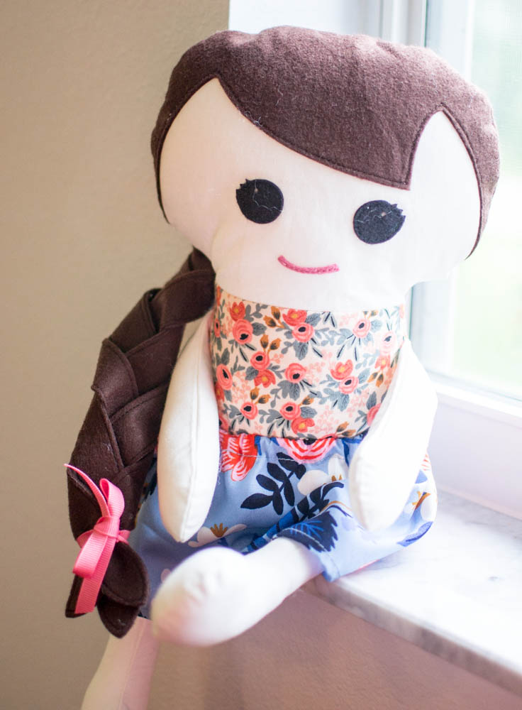 How to Sew a Doll Skirt {easy sewing tutorial} — SewCanShe | Free ...