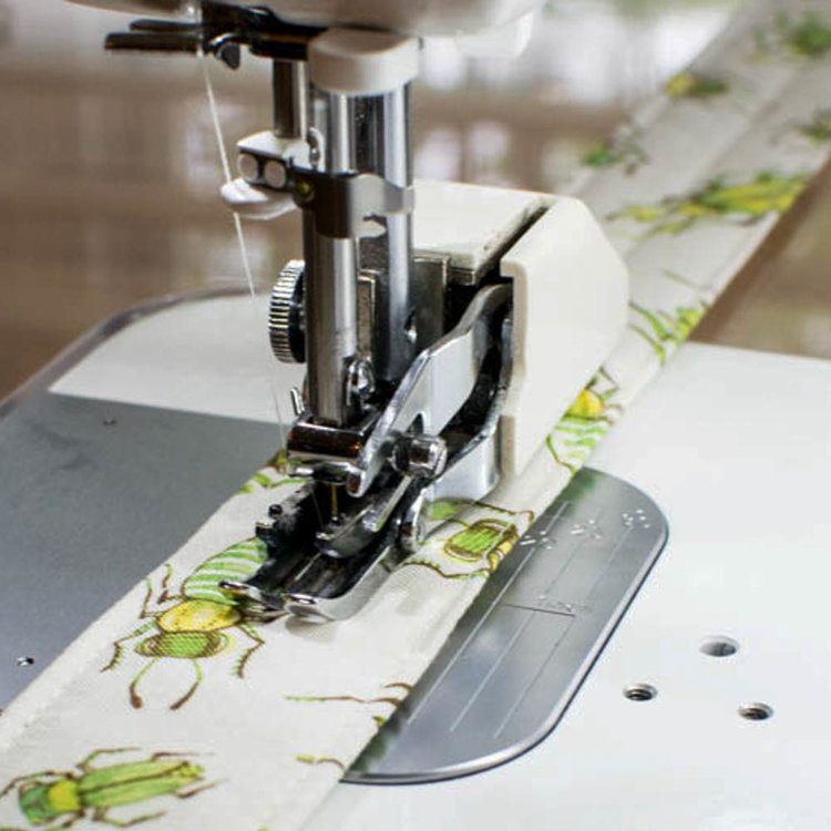 walking foot when sewing on quilt binding
