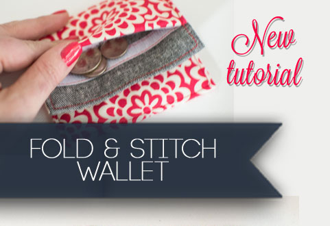 My free Fold & Stitch Wallet Pattern on It\'s Sew Easy TV ...