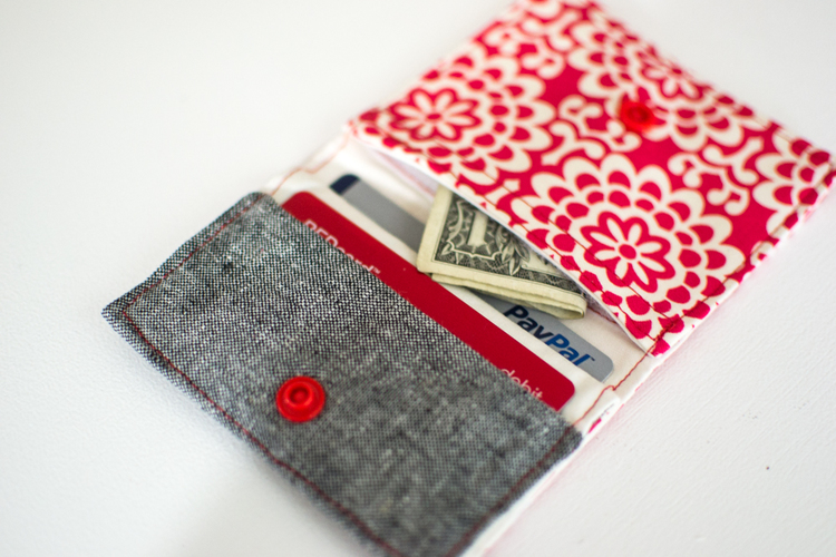 My free Fold & Stitch Wallet Pattern on It\'s Sew Easy TV ...