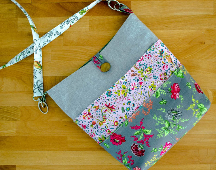 How to Sew a Tote with Many Pockets! {free sewing pattern - Part 1 ...