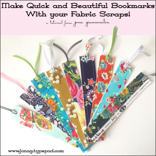 quick and easy bookmarks from Jona Gia