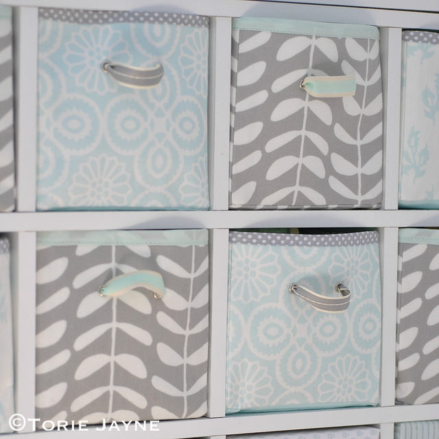 FABRIC STORAGE DRAWER from Torie Jayne