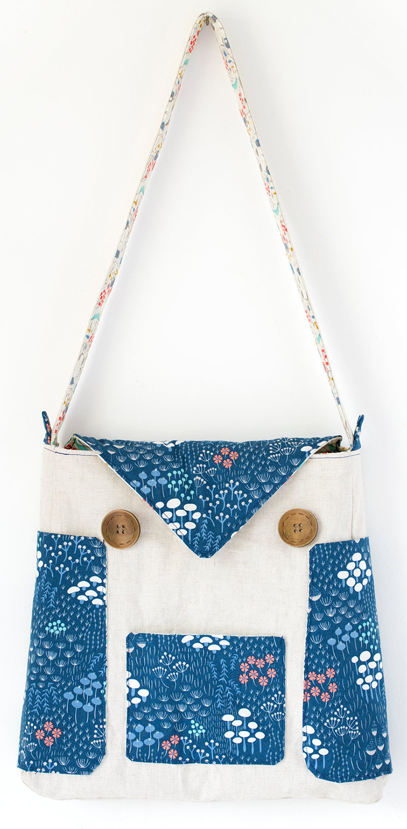 Owl Tote Bag from Sew Mama Sew