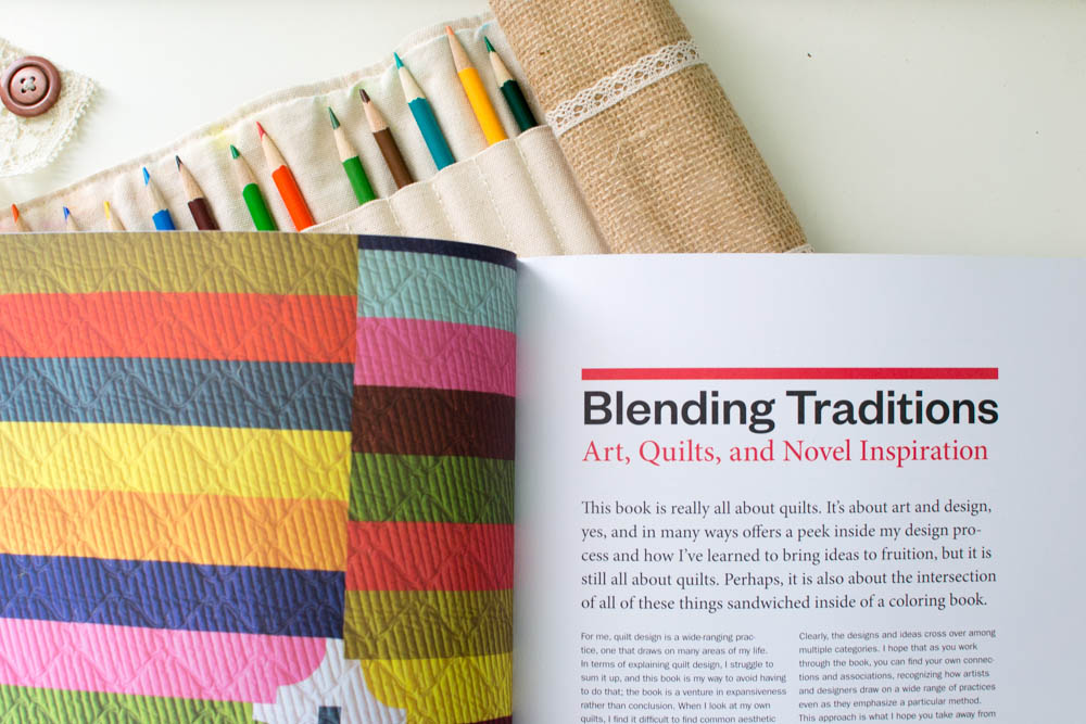 Book Review Of The Quilt Design Coloring Workbook By Thomas Knauer