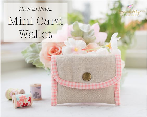 Mini Card Wallet  from Loganberry Handmade