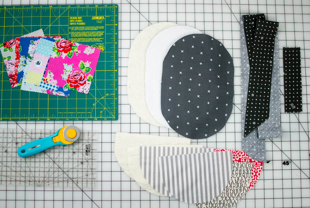 Patchwork Potholder with Pockets - a mini quilt for your kitchen ...
