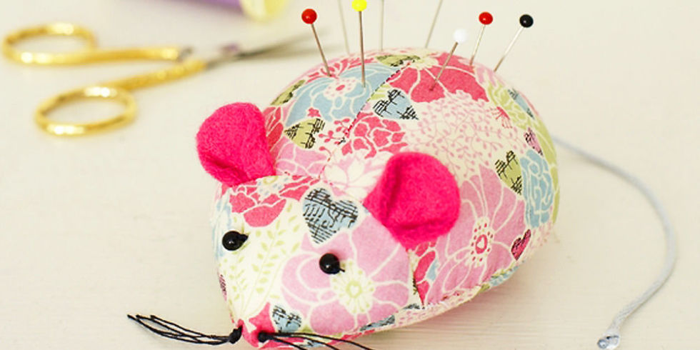 Cute Mouse Pincushion from Prima