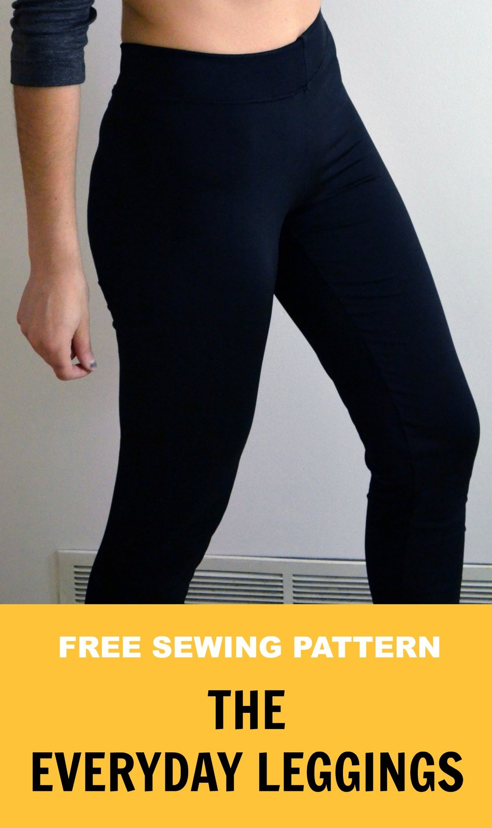 Easy Everyday Leggings from On The Cutting Floor