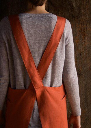 Cross Back Apron from Purl Soho