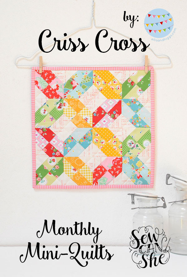 Monthly Mini Quilt For May Sewcanshe Free Sewing