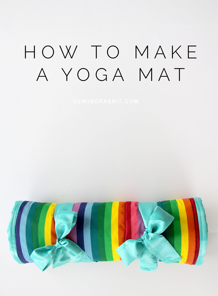 Yoga Mat DIY from The Sewing Rabbit