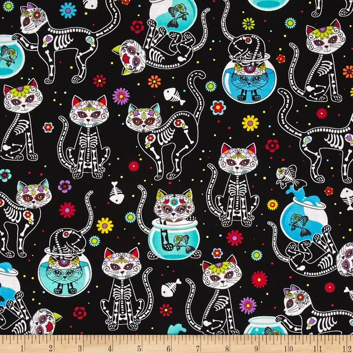 12 cat fabrics that you need in your stash � sewcanshe