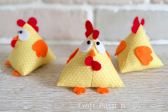 LUCKY CHICKEN PATTERN from Craft Passion