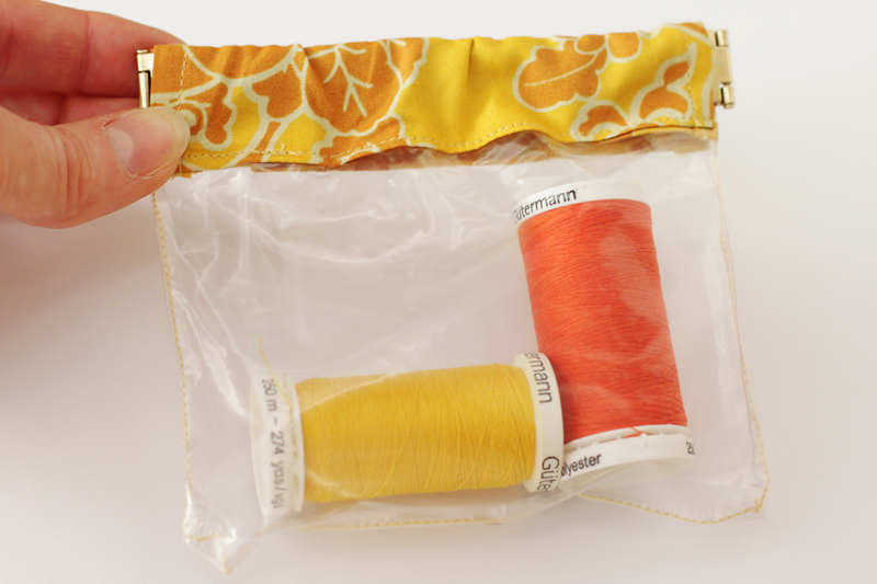 Flex Frame Pouch from Bonjour Quilts