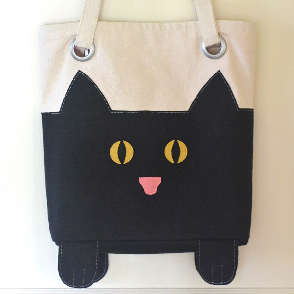 Paws And All Cat Tote from Orange Bettie
