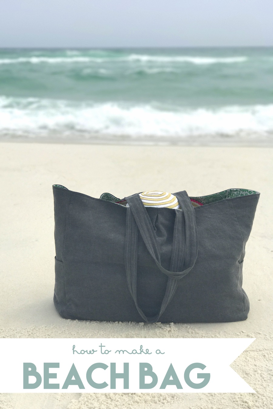 beach bag from kojo designs