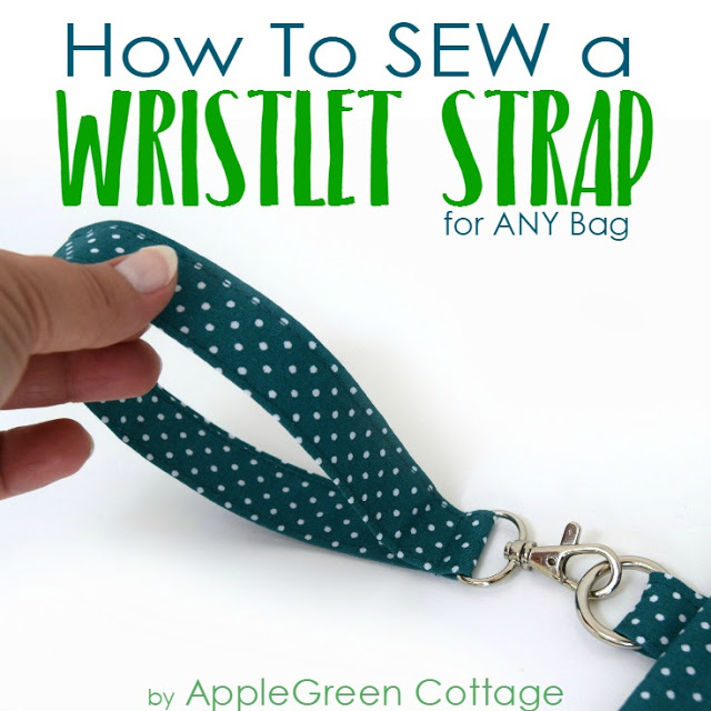 Wristlet Strap from Apple Green Cottage