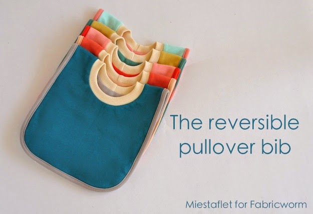 The Reversible Pullover Bib from Fabricworm Blog