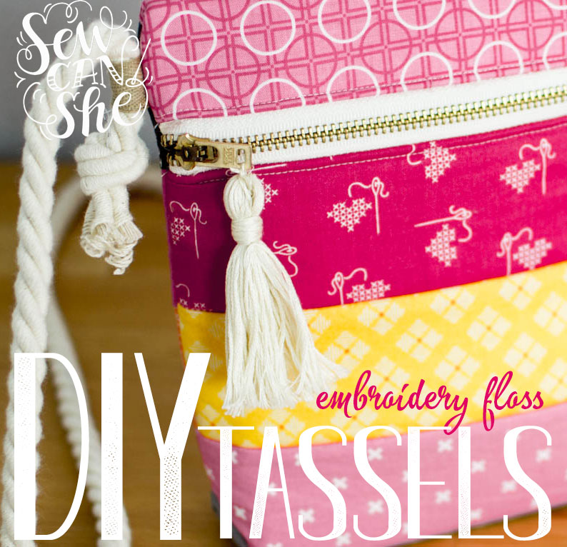 New Diy Video How To Make Embroidery Thread Tassels Sewcanshe