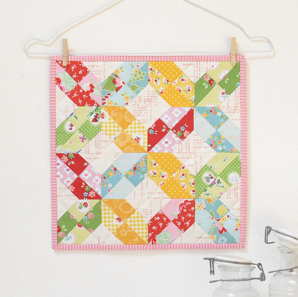 Monthly Mini Quilt Series Recap 7 Free Mini Quilt