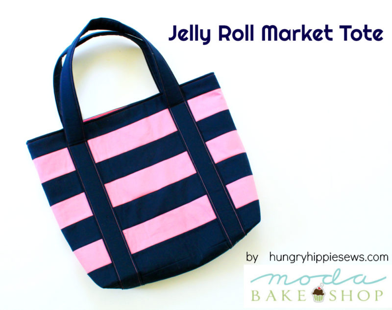 Jelly Roll Market Tote from Moda Bake Shop