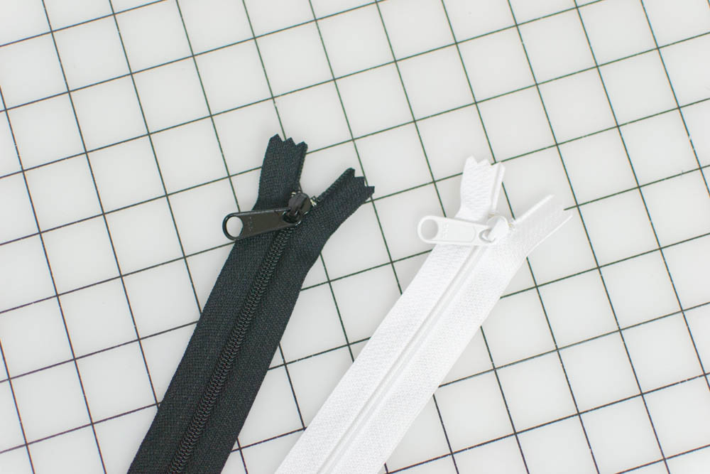zippers for canvas tote bag
