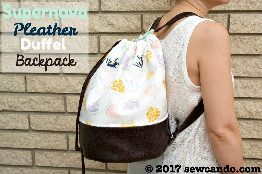 Sew Can Do Supernova Pleather Duffel Backpack_zpsxpowumvm.jpg