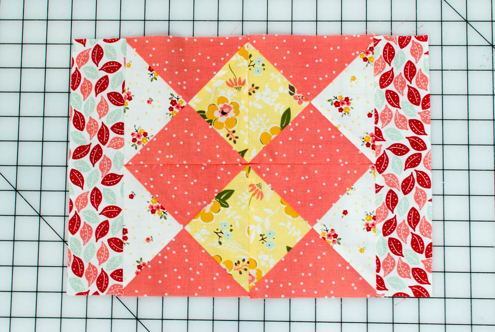 Quilt Patterns Quarter Square Triangles : Monthly Mini Quilt for September... the Quarter Square Triangle Quartet! SewCanShe Free ...