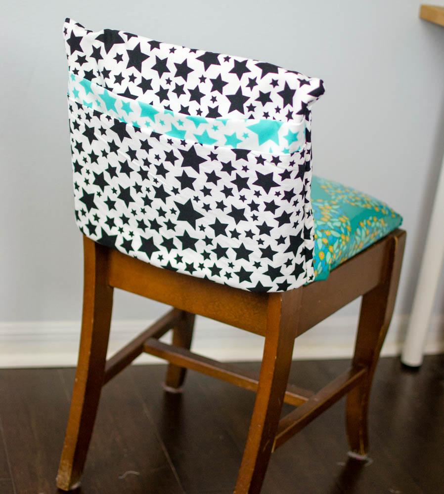 Show Off Saturday adorable chair pockets aka seat sacks