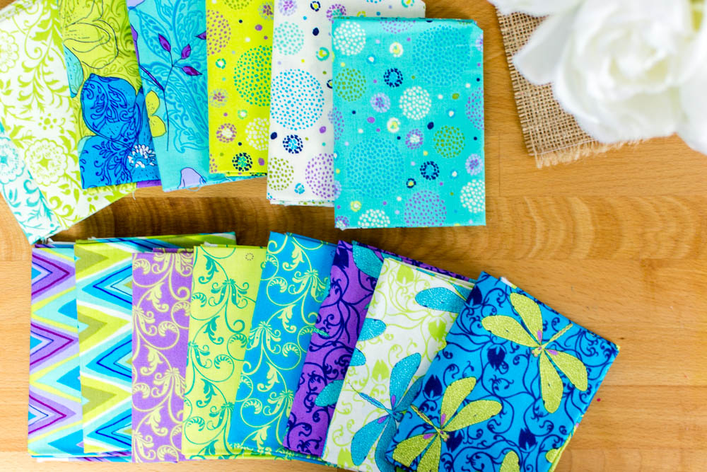 The Fat Quarters I Picked Were From The New Hayden Collection From Ink U0026  Arrow Fabrics. I Love The Pretty Florals, Whimsical Dots And Chevrons, ...